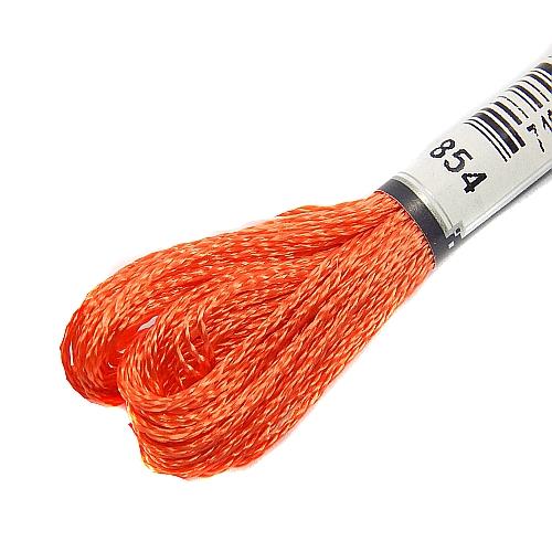 Anchor Marlitt 4-fädiges Glanzstickgarn in 90 hochglänzenden Farben lieferbar, zum Klöppeln, als Konturfaden, zum Sticken, Häkeln, in der Klöppelwerkstatt erhältlich. Farbe 854