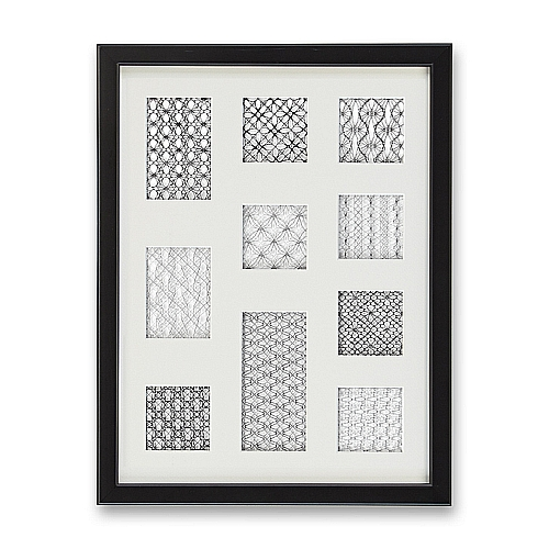 Passepartout ~ 10 Ausschnitte,mit Rahmen, eine schöne Möglichkeit um Spitze attraktiv zu zeigen, in der Klöppelwerkstatt, Häkeln, Klöppeln, Sticken, Fotos, Bild mit Spitze