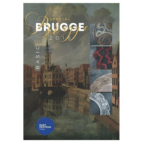 Special Brugge Basic 2018, Mappe mit 12 Mustern, herausgegeben zu World Lace Congreß, in der Klöppelwerkstatt erhältlich
