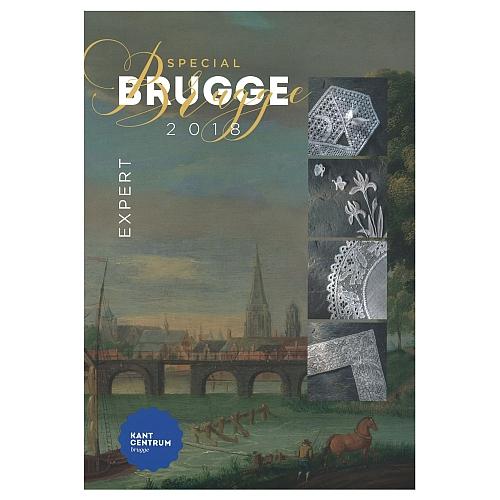 Special Brugge Expert 2018, Mappe mit 12 Mustern, herausgegeben zu World Lace Congreß, in der Klöppelwerkstatt erhältlich