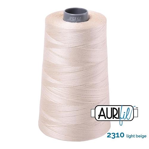 AURIFIL Baumwollgarn - 140 g Spule - Klöppelwerkstatt in 270 Farben erhältlich, hervorragend zum klöppeln, sticken, quilten, stricken, patchwork, nähen, häkeln Stärke 28wt Farbe 2310 light natural