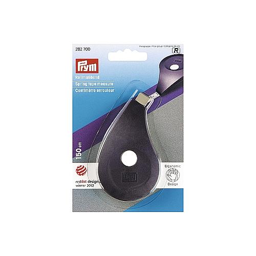 Prym - Rollmaßband ergonomics Besonders ergonomisches Design Weißes Band mit Skala 150 cm/60 inch, in der Klöppelwerkstatt
