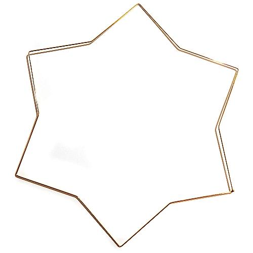 Set 1 = Torchonstern - hier der vergoldete Metallrahmen zum Set = Torchonstern, zum klöppeln ist in der Klöppelwerkstatt erhältlich und ein schönes Geschenk zu Weihnachten.