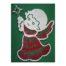 Engel mit Stern, Set, Inhalt: Holzrahmen Engel mit Harfe Klöppelbrief Perlen, Weihnachten Klöppeln in der Klöppelwerkstatt