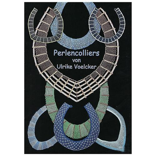 Klöppelbrief Perlencolliers ~ Ulrike Voelcker, in der Klöppelwerkstatt erhältlich, Schmuck, Colliers, Kette klöppeln, 11 verschiedene Klöppelbriefe