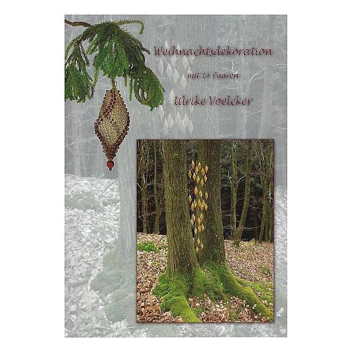 Klöppelbrief Weihnachtsdekoration ~ Ulrike Voelcker, in der Klöppelwerkstatt erhältlich, Weihnachten, Schmuck, Frühlingsdeko möglich.