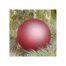 Weihnachtskugel rot d=12cm - in der Klöppelwerkstatt, Mundgeblasenes Glas, blau gefärbt, Durchmesser der Kugel ca. 12 cm, Weihnachten, klöppeln