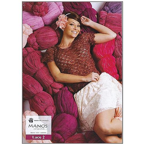 Lace 2 - Manos del Uruguay - Klöppelwerkstatt, 7 Modelle zum stricken, Schals, Stola, Weste, Top, Jacke,Anleitung und Strickschrift zu jedem Modell, stricken, Schal, Jacke, Weste, Top, Loop