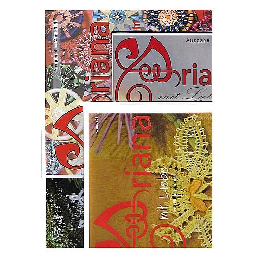Ariana - Galina Tihonova, Handarbeitszeitschrift, in der Klöppelwerkstatt, handarbeiten, klöppeln