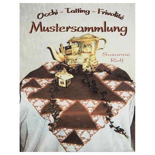 Mustersammlung ~ Occhi- Susanne Rolf, in der Klöppelwerkstatt, Occhi, Tatting, Frivolité