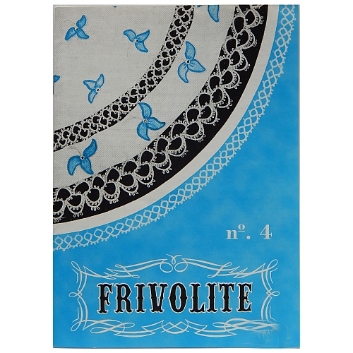 Frivolité No 4, in der Klöppelwerkstatt, Occhi, Tatting, Frivolité