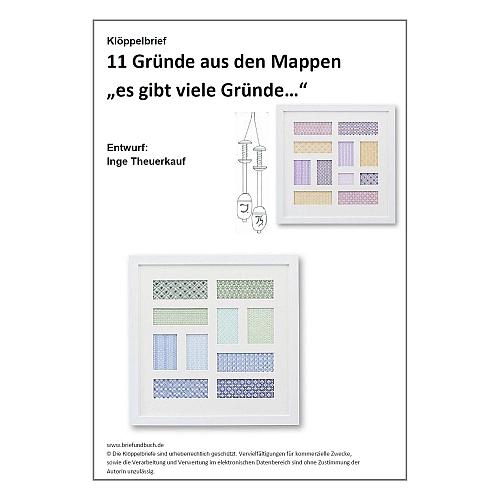 Klöppelbrief 11 Torchon-Gründe ~ Inge Theuerkauf, in der Köppelwerkstatt, klöppeln, Torchon, Klöppelbrief