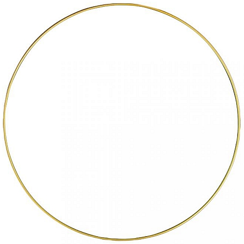 Metallring d-30cm in gold-, silberfarben und weiß, in der Köppelwerkstatt erhältlich, geeignet als Rahmen, für die Spitze als Fensterbild